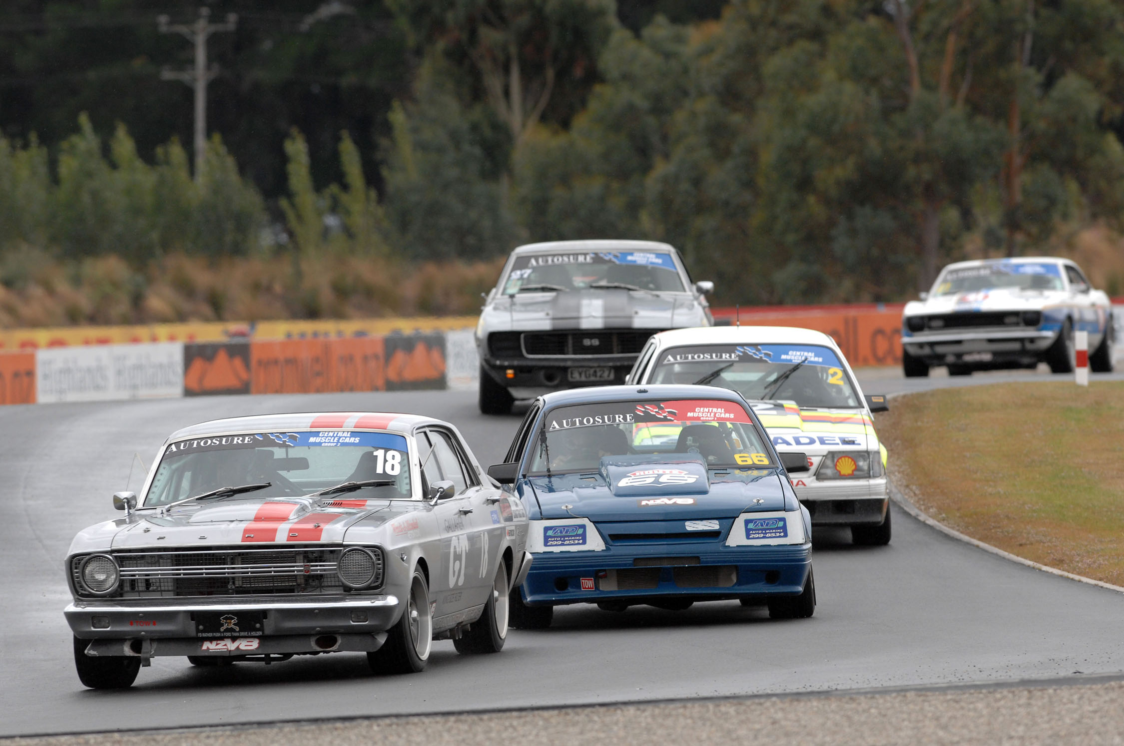Central Muscle Cars Top The Bill At Hampton Downs
