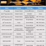 HRC & NZIGP Events 2016-2017